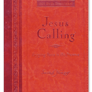 Jesus Calling, 365 Daily Devotional (large size)