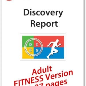 Fitness DISC Personality Profile, Standard Version (19-37 pages), English Discovery Report