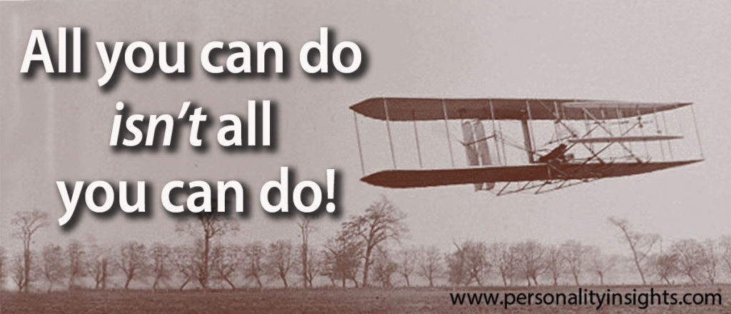 Tip: All you can do isn't all you can do!