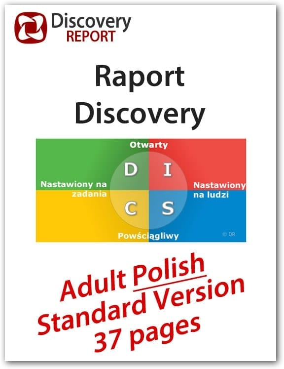 DISC Profile In Polish With Personality Assessment