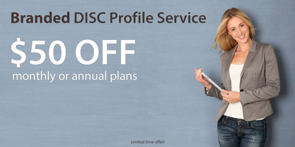 disc profile branded service for resellers