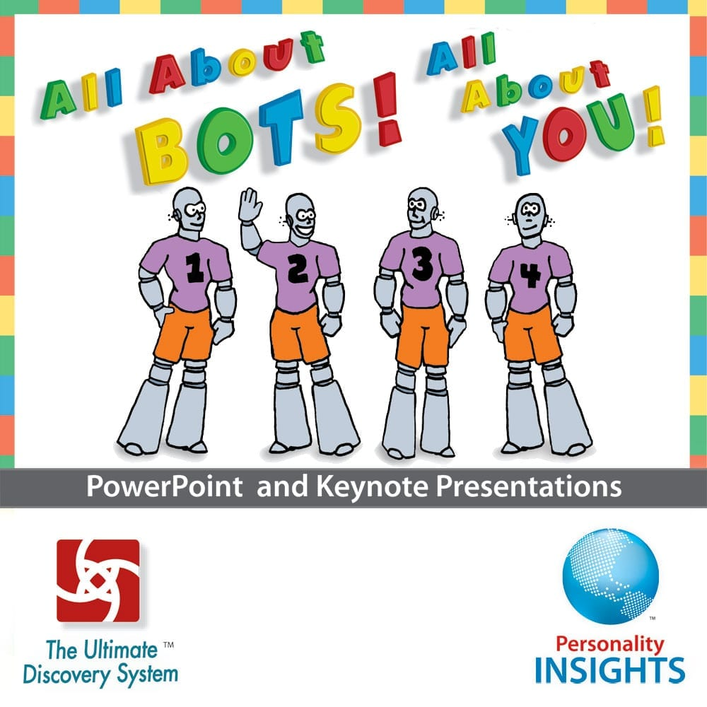 Power Point & Keynote Presentation For English BOTS Assessment
