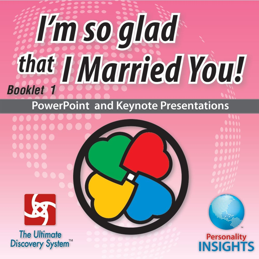 Power Point & Keynote Presentation For English I'm So Glad That I Married You