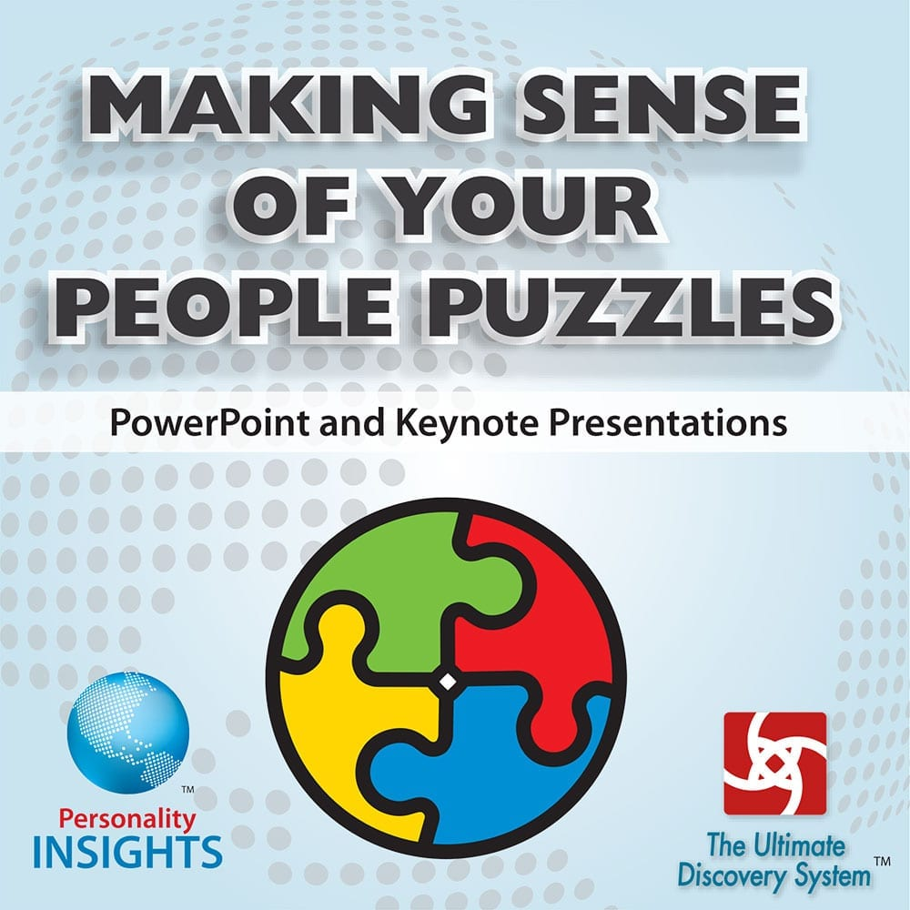 making sense of your people puzzles cd