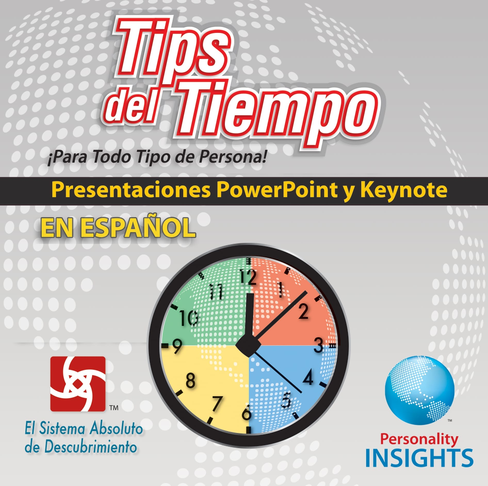 Power Point & Keynote Presentation For *SPANISH* Time Tips