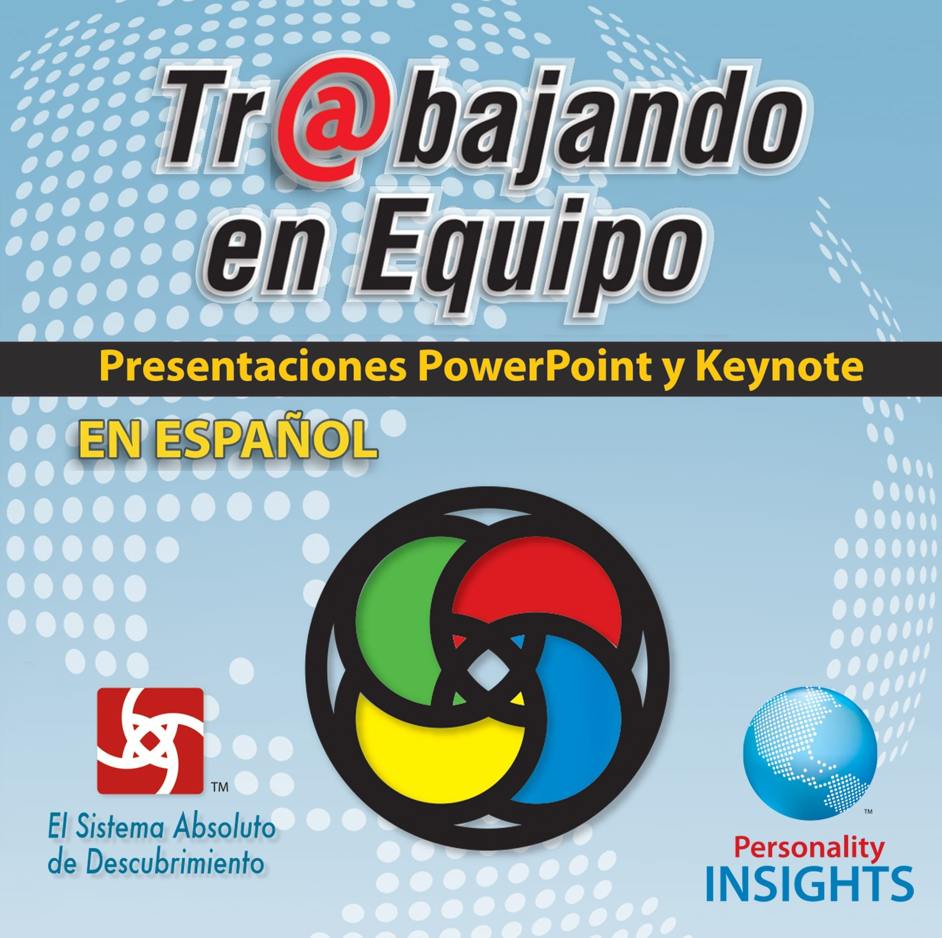 Power Point & Keynote Presentation For *SPANISH* Team@Work / Trabajando En Equipo