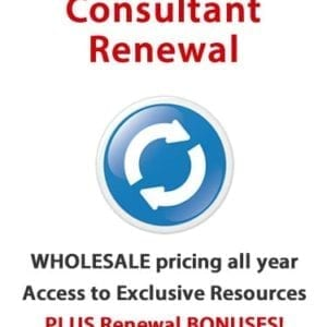 Consultant Renewal for 2018