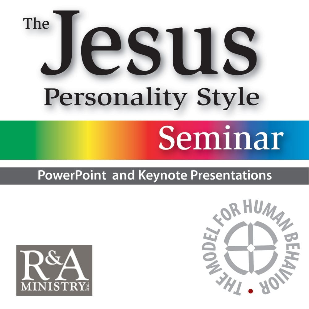 Power Point & Keynote Presentation For The Jesus Personality Seminar