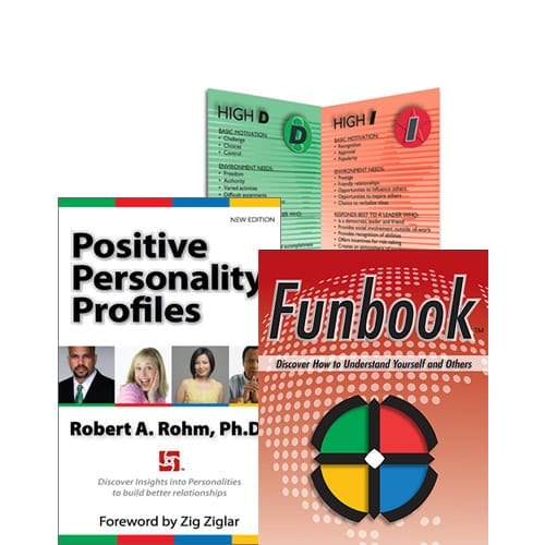 DISC personality store - books, videos, flip charts