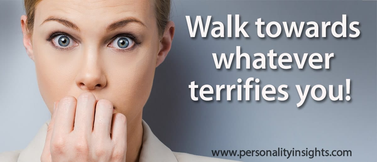 Tip: Walk Towards Whatever Terrifies You!