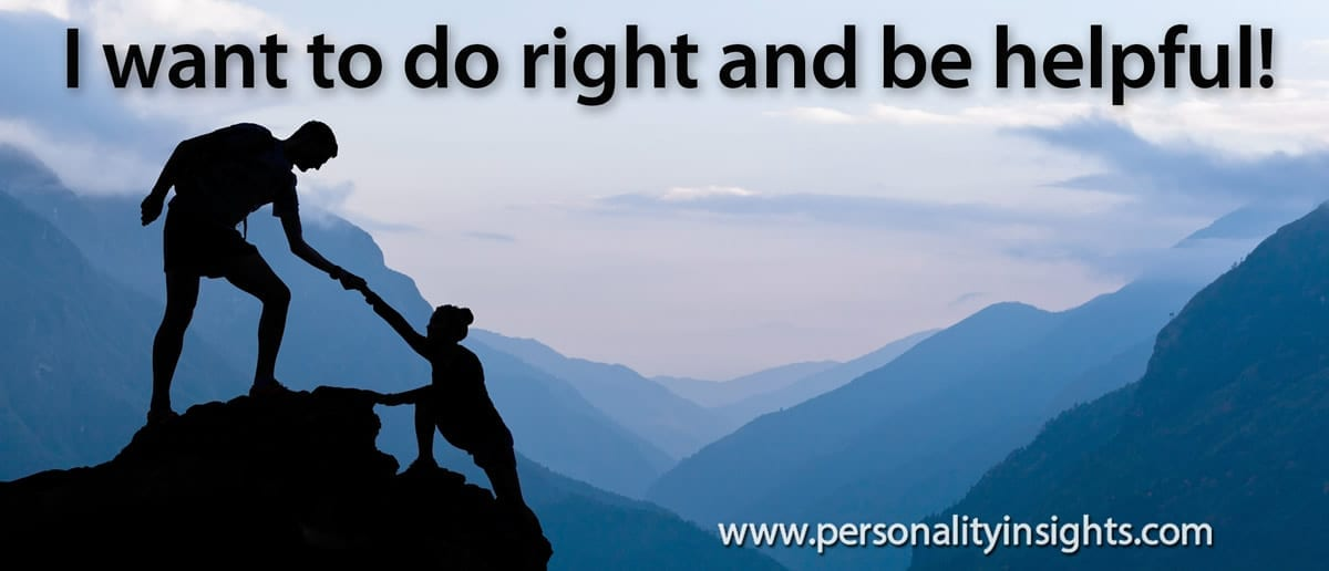 Tip: I want to do right and be helpful!
