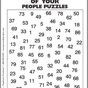 Making Sense of Your People Puzzle (single)