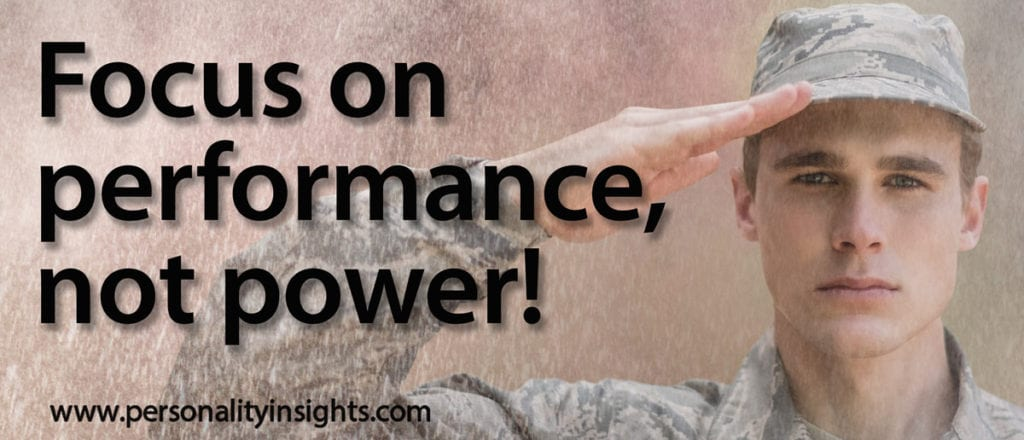 Tip: Focus on performance, not power!