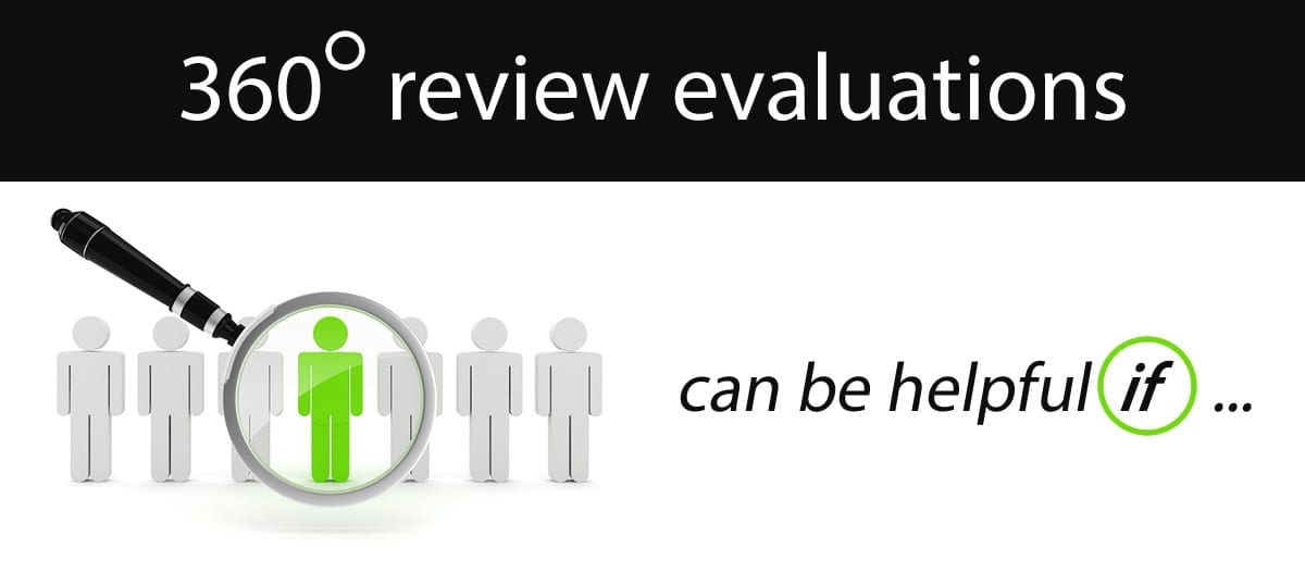 360 degree review evaluations