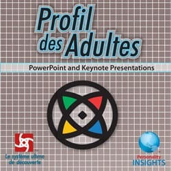 French Adult Profile Assessment powerpoint keynote presentation