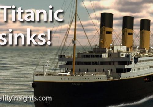 Tip: The Titanic Still Sinks!