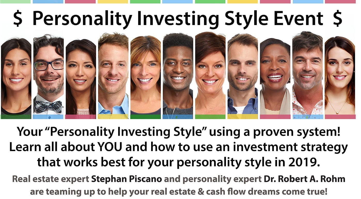 Personality Investing Style Seminar