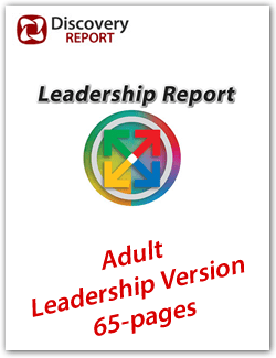 Adult DISC LEADERSHIP Personality Profile (65-pages), English Discovery Report
