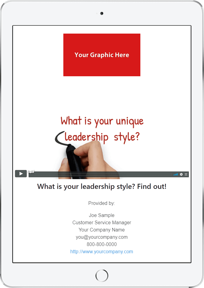 Video Promo: Your Leadership Style