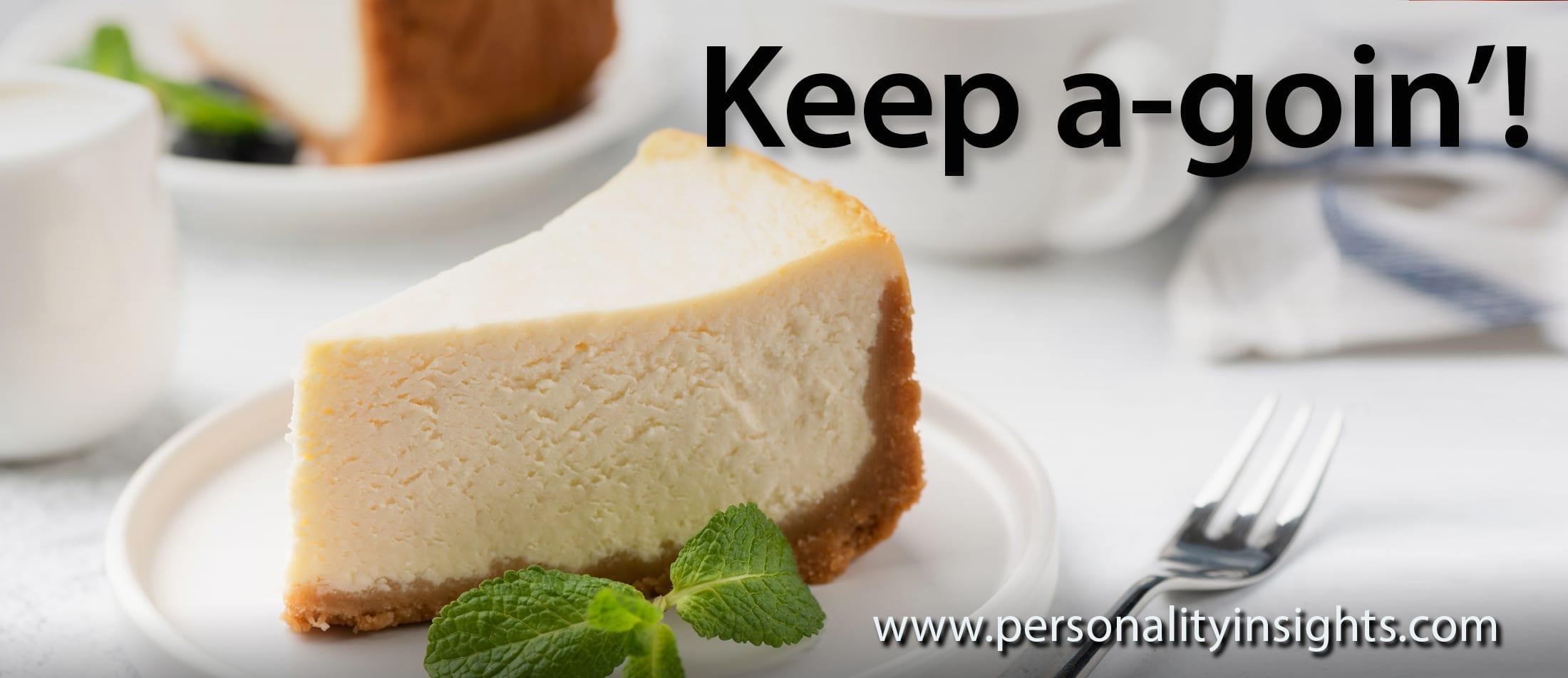 Tip: Keep a-goin'!