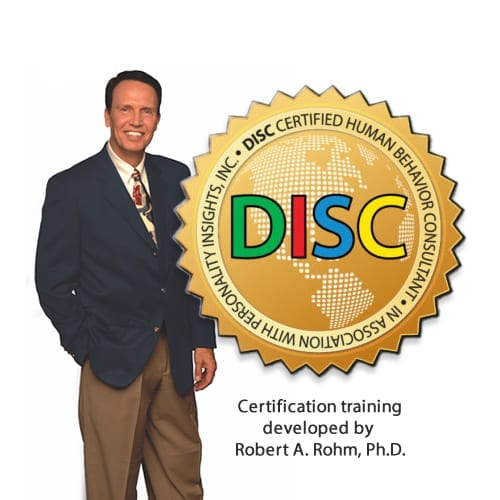 disc certification training with Robert Rohm