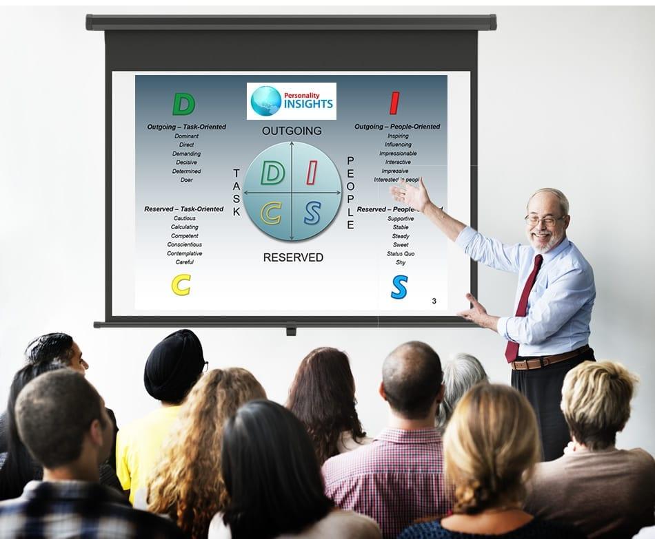 presenting DISC seminar